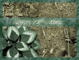 Leaves and Stone by nico-brushes