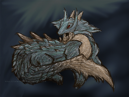 + Lagiacrus 001 + by inferno988