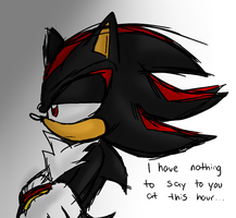 Oekaki: Shadow has nothing to say at this hour by AReluctant-Hero