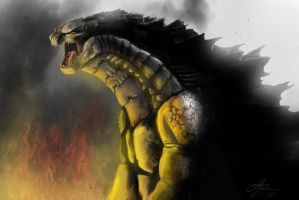 Godzilla Concept Finished by joshmalosh