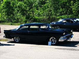 black '58 Ford by AmericanMuscle