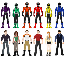 Power Rangers Wild Gunners by heavenlymythicranger