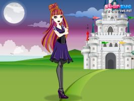 Holly O Hiar In Raven's Story by magictimeymare12