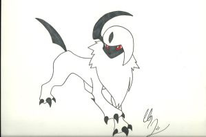 absol by Sasuke-fan