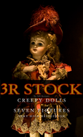 3R Stock - Creepy Dolls by NEOkeitaro