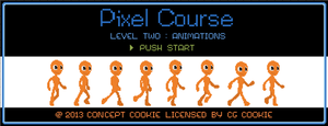 Pixel Course II: Animations by CGCookie