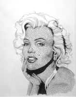 Marilyn Monroe by themajord