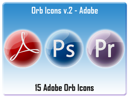 Orb Icons v.2 - Adobe by AndrewBadger