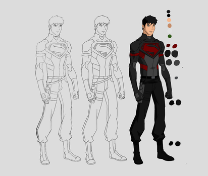 Young Justice OC SuperKnight by james23x