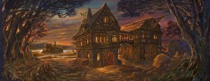 Old Tavern by sabin-boykinov