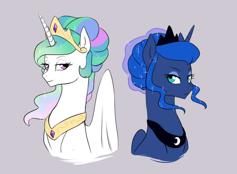 Royal Up-do's by Pikokko
