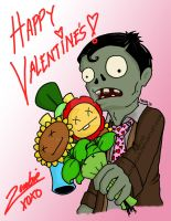 Happy Valentine's Day PVZ by adventaim