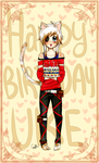 HappyBirthday Uke by Nutmegnog