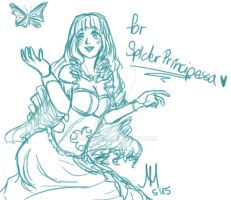 Sketchprice for SpiderPrincipessa by Jellymii