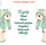 Kyrie The Nymph Alicorn GIF version by Lost-in-Equestria