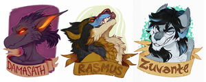 Fresh Badges by LiLaiRa