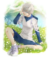 killua sama by BlackCatShooter