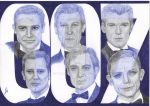All James Bond. Ballpoint pen by valakh