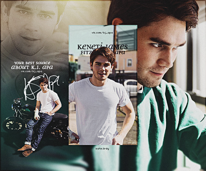 KJ Apa by kate-lirdy