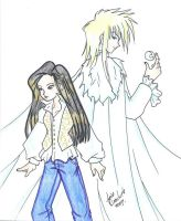 Labyrinth: Sara and Jareth by The-Labyrinth-Club