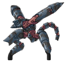 MGS2 Metal Gear Ray Sprite by sarrus