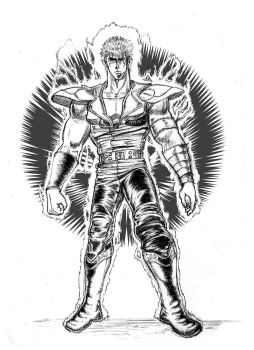 A Kenshiro from a Man's Soul by NicolasVallier