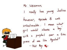 Dear Mr. Weisman by King-of-Losers
