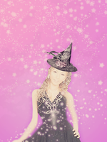 Gyaru is a witch - cell bg 2 by milkiestars
