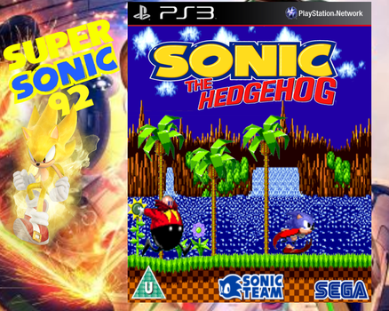 Sonic The Hedgehog 1 Box Art by SuperSonic92