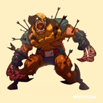 The Wolverine by Mikuloctopus