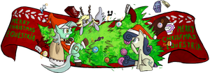 depry accidentally the christmas tree by juanrock