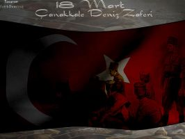 18 Mart Canakkale Naval Victory by fatihdmrg