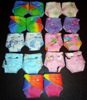 Teeny Diapers 18 Week Size 8-5-13 by wiccanwitchiepoo