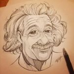 Albert Einstein by gelipe