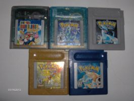 My Gameboy Color Collection by color-freak1