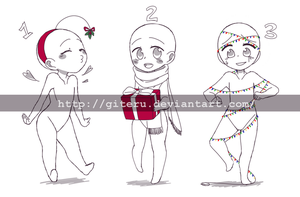 Holiday YCH Auction|CLOSED by GiteRu