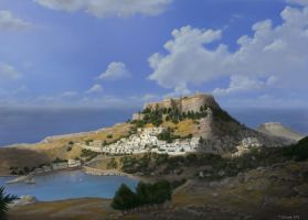 Lindos Back in Time (WIP?) by TomasBj