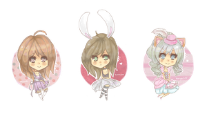 Chibi Prizes 1-3 by Sunny-Winter-Star