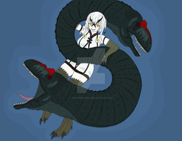 Allosaurus Heavy Cruiser Hime by The-Episiarch