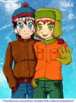 South Park - Stan and Kyle by LovelyKouga