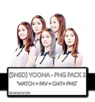 (SNSD) Yoona - PNG PACK 3 by ShanHyun