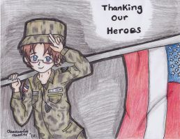 Veterans Day 2012 by SuperAnimeKitty