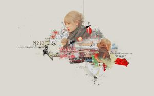 Taylor Swift in London Wallpaper by Rio-Liv