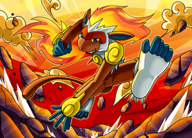 :All Fired Up: Infernape