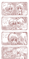 Comic Strip Commission:: Chicken and Ivy by OtakuPup