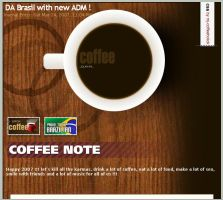 Coffee css journal by mj-coffeeholick