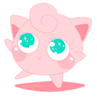 Jigglypuff by TinyWalrus