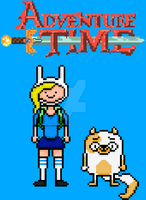 Adventure Time With Fionna and Cake by Silverhammer37