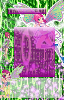 Tecna Journal Skin by WinxSparkle