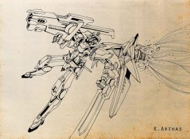 Gundam 00_No Name 02 by MrKingArthas